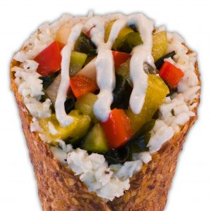 Wakame Sushi Cone